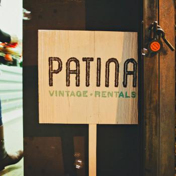 patina sign