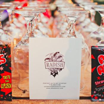raddish poprock cocktail